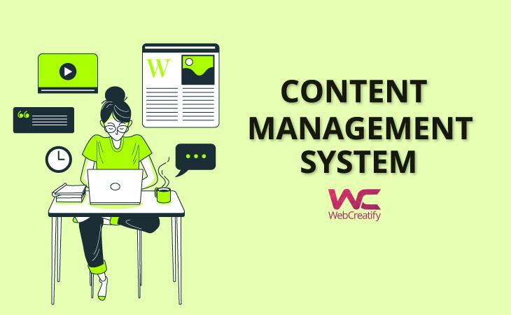 Content Management System - WebCreatify