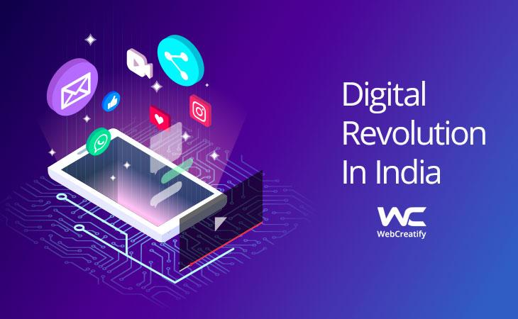 Digital Revolution in India - WebCreatify