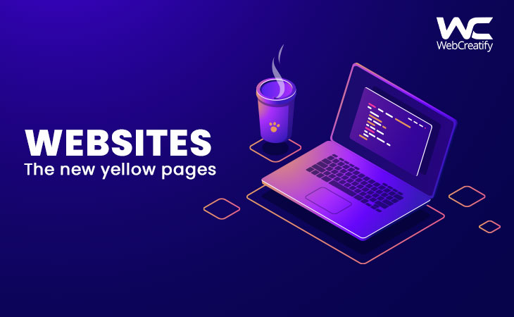 Websites: The New Yellow Pages? - WebCreatify