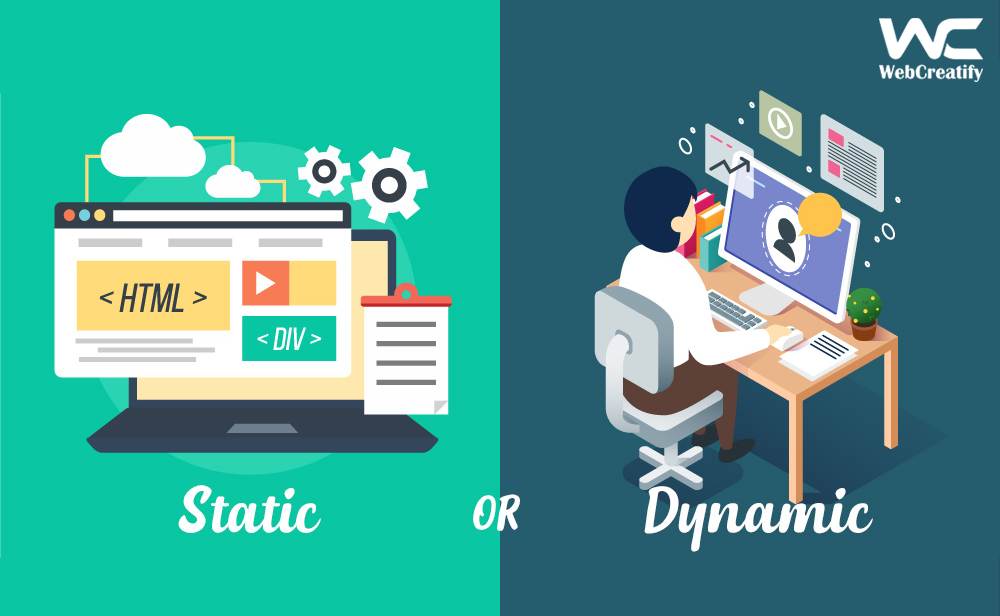 An Evolution of School Static Website to Dynamic one - WebCreatify