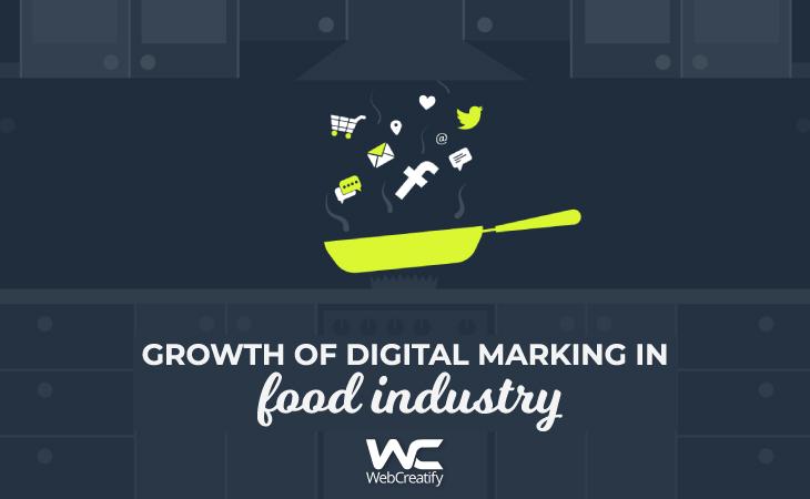 Growth of Digital Marketing in Food Industry - WebCreatify