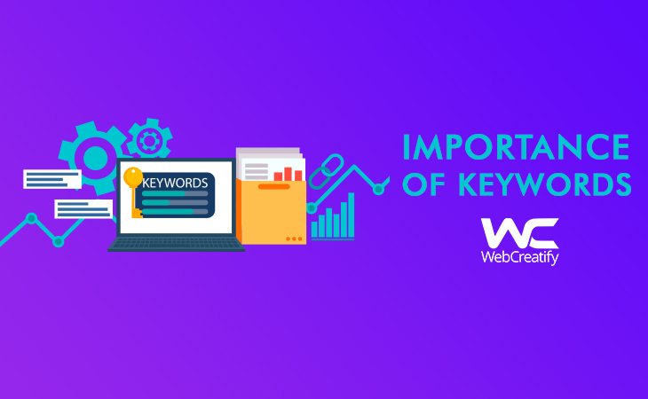 Keywords - WebCreatify