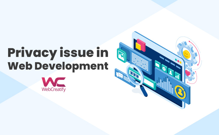 Privacy Issue in Web Development  - WebCreatify