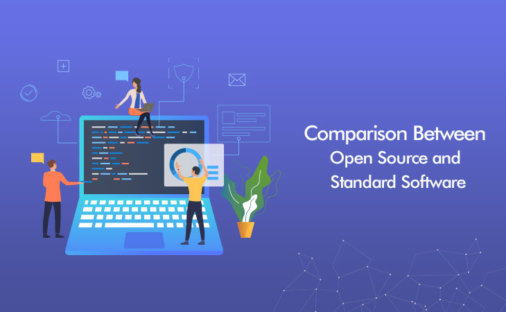 Comparison between Open Source and Standard Software - WebCreatify