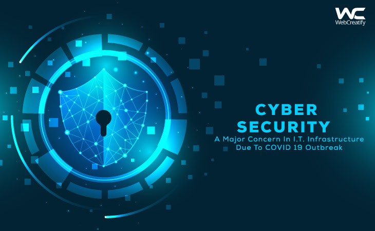 Cyber Security, A Major Concern In I.T. Infrastructure Due To Covid-19 Outbreak - WebCreatify