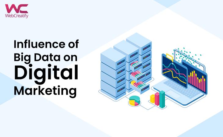 Influence of Big Data on Digital Marketing - WebCreatify