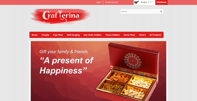 Crafterina Website